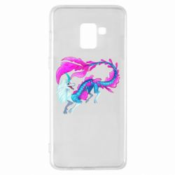Чохол для Samsung A8+ 2018 Sisu Water Dragon