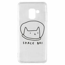 Чохол для Samsung A8 2018 Space boi