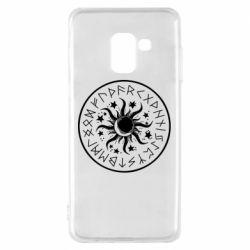 Чохол для Samsung A8 2018 Sun in runes