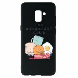 Чохол для Samsung A8+ 2018 The breakfast club