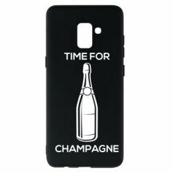 Чохол для Samsung A8+ 2018 Time for champagne