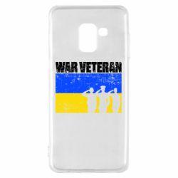Чохол для Samsung A8 2018 War veteran