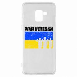 Чохол для Samsung A8+ 2018 War veteran