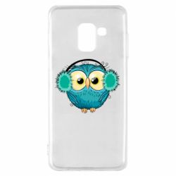 Чехол для Samsung A8 2018 Winter owl