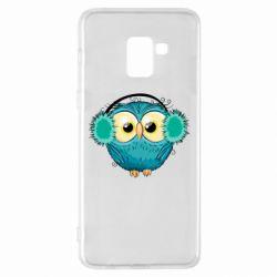 Чехол для Samsung A8+ 2018 Winter owl