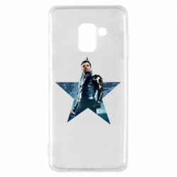 Чохол для Samsung A8 2018 Winter Soldier Star