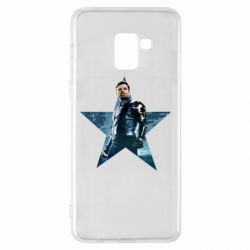 Чохол для Samsung A8+ 2018 Winter Soldier Star