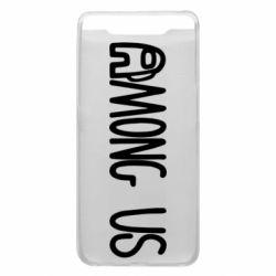 Чохол для Samsung A80 Among Us Logo