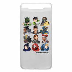 Чохол для Samsung A80 Apex legends heroes