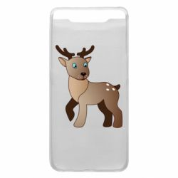 Чехол для Samsung A80 Cartoon deer