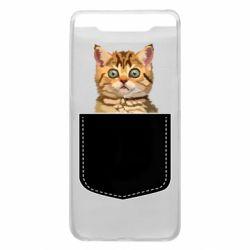 Чехол для Samsung A80 Cat in your pocket