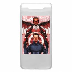 Чохол для Samsung A80 Falcon and the Winter Soldier Art