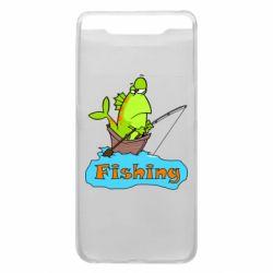 Чехол для Samsung A80 Fish Fishing