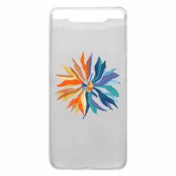 Чохол для Samsung A80 Flower coat of arms of Ukraine