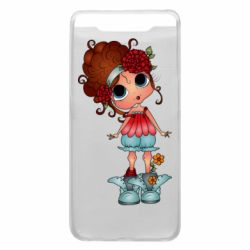 Чехол для Samsung A80 Girl with big eyes