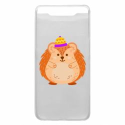 Чохол для Samsung A80 Little hedgehog in a hat