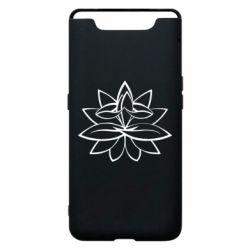 Чохол для Samsung A80 Lotus yoga