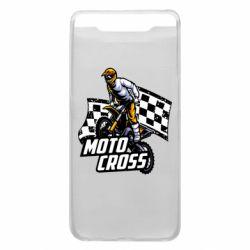 Чехол для Samsung A80 Motocross