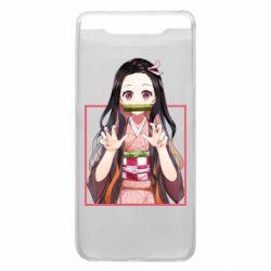 Чохол для Samsung A80 Nezuko