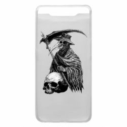 Чехол для Samsung A80 Plague Doctor graphic arts
