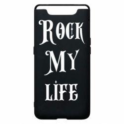 Чехол для Samsung A80 Rock my life