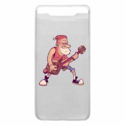 Чохол для Samsung A80 Rock'n'roll Santa