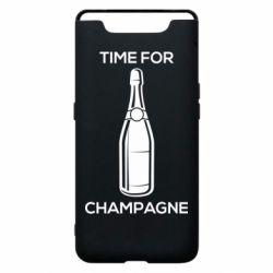 Чохол для Samsung A80 Time for champagne