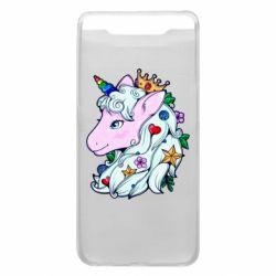 Чохол для Samsung A80 Unicorn Princess
