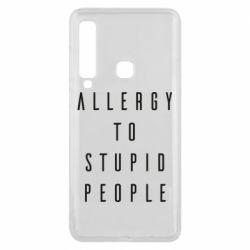 Чохол для Samsung A9 2018 Allergy To Stupid People