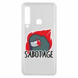 Чохол для Samsung A9 2018 Among Us Sabotage