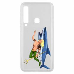 Чехол для Samsung A9 2018 Aquaman with a shark