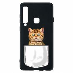 Чехол для Samsung A9 2018 Cat in your pocket