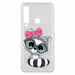 Чехол для Samsung A9 2018 Cute raccoon