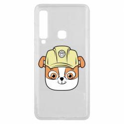 Чохол для Samsung A9 2018 Dog in helmet