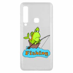 Чехол для Samsung A9 2018 Fish Fishing