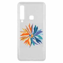 Чохол для Samsung A9 2018 Flower coat of arms of Ukraine