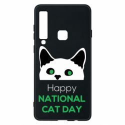 Чехол для Samsung A9 2018 Happy National Cat Day