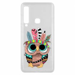 Чохол для Samsung A9 2018 Little owl with feathers