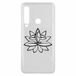 Чохол для Samsung A9 2018 Lotus yoga