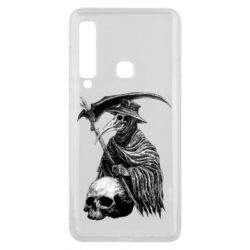 Чехол для Samsung A9 2018 Plague Doctor graphic arts