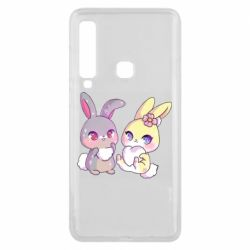 Чохол для Samsung A9 2018 Rabbits In Love