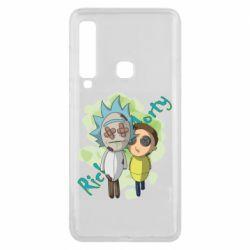Чохол для Samsung A9 2018 Rick and Morty voodoo doll