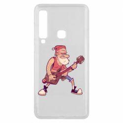 Чохол для Samsung A9 2018 Rock'n'roll Santa