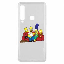Чехол для Samsung A9 2018 Simpsons At Home