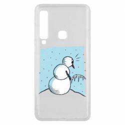 Чохол для Samsung A9 2018 Snowman. It's Cold!