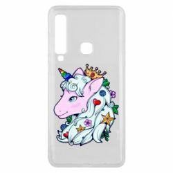 Чохол для Samsung A9 2018 Unicorn Princess