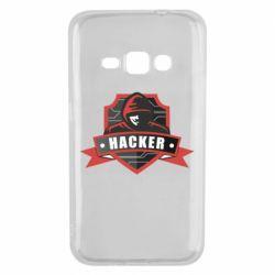 Чохол для Samsung J1 2016 Anonymous Hacker