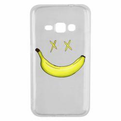 Чехол для Samsung J1 2016 Banana smile