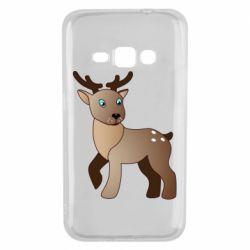Чехол для Samsung J1 2016 Cartoon deer