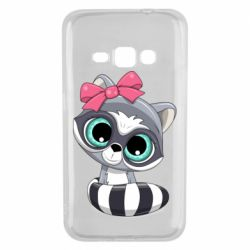 Чехол для Samsung J1 2016 Cute raccoon